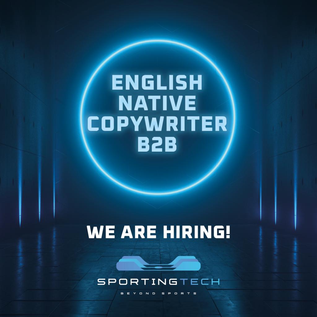 ENGLISH NATIVE COPYWRITER B2B